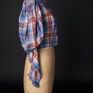 Vintage Puffy Sleeve Costume Bodice Shirt